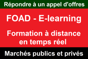 Foad E-learning appels d'offres